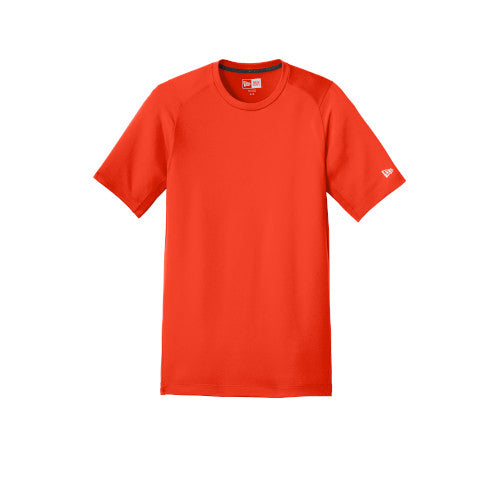 Deep Orange Custom New Era Series Performance Crew Tee
