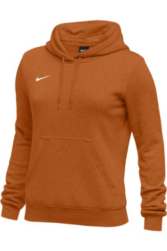 Desert Orange Nike Ladies Hoodie