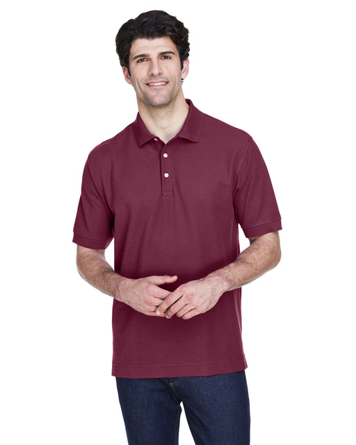 Custom Devon & Jones Pima Pique Polo With Logo