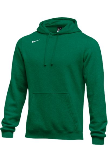 Dark Green Custom Nike Team Hoodie