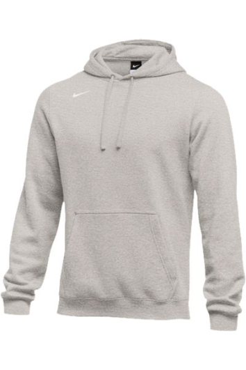 Dk Grey Heather Custom Nike Team Hoodie