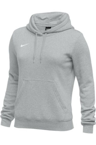 Dark Grey Heather Nike Ladies Hoodie