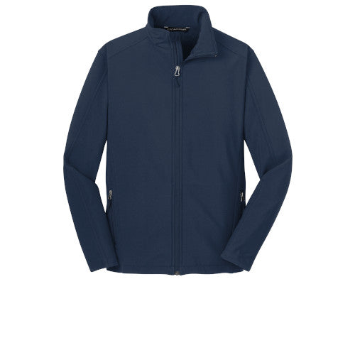 Dress Blue Navy Custom Men's Soft Shell Jacket