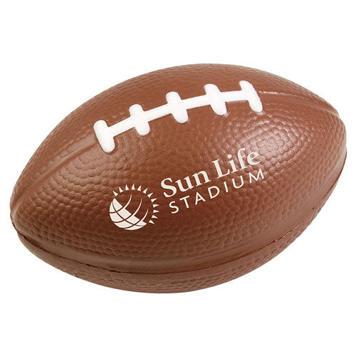 Custom Football Stress Ball with logo