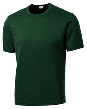 Forest Green Custom Dry Performance T-Shirt