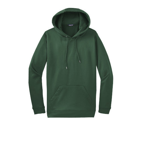 Forest Green Custom Dry Performance Hoodie Sweatshirt