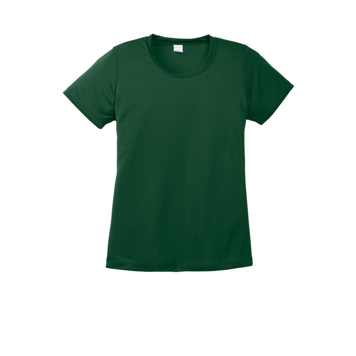 Forest Green Custom Ladies Dry Performance T-Shirt