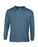 Indigo Blue Custom Gildan Long Sleeve T-Shirt