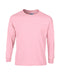 Light Pink Custom Gildan Long Sleeve T-Shirt