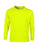 Safety Green Custom Gildan Long Sleeve T-Shirt