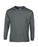 Charcoal Custom Gildan Long Sleeve T-Shirt