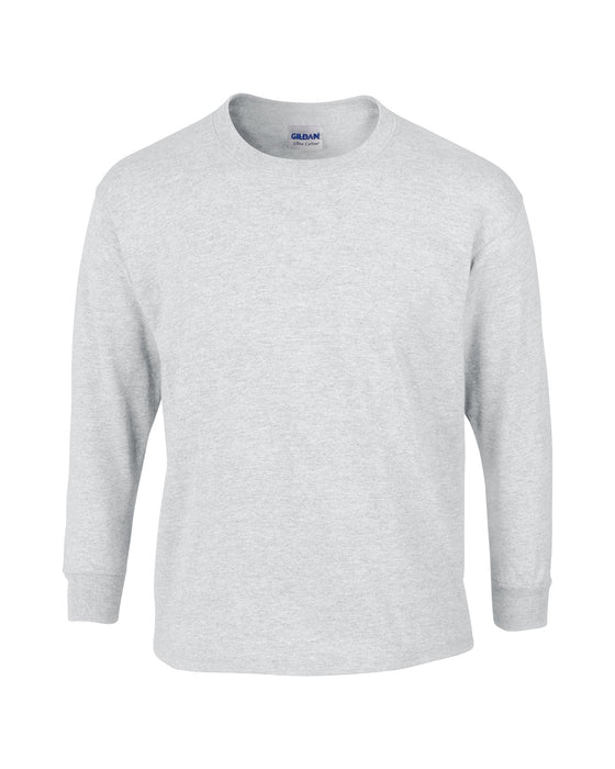 Ash Custom Gildan Long Sleeve T-Shirt
