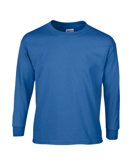 Royal Custom Gildan Long Sleeve T-Shirt