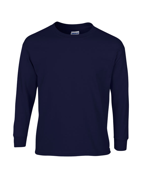 Navy Custom Gildan Long Sleeve T-Shirt