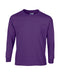 Purple Custom Gildan Long Sleeve T-Shirt