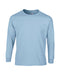 Light Blue Custom Gildan Long Sleeve T-Shirt