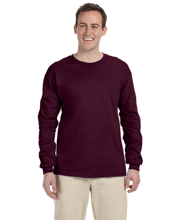 Custom Gildan Long Sleeve T-Shirt with logo