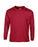 Cardinal Red Custom Gildan Long Sleeve T-Shirt