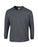 Dark Heather Custom Gildan Long Sleeve T-Shirt