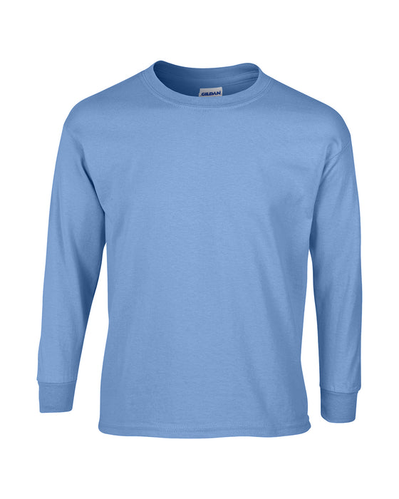 Carolina Blue Custom Gildan Long Sleeve T-Shirt