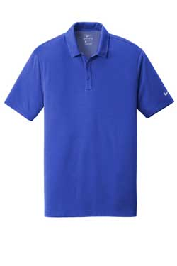 Game Royal Nike Dri-FIT Hex Textured Polo With Logo