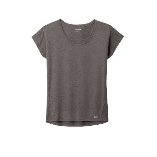 Gear Grey Custom Ogio Endurance Ladies Pulse Dolman Tee