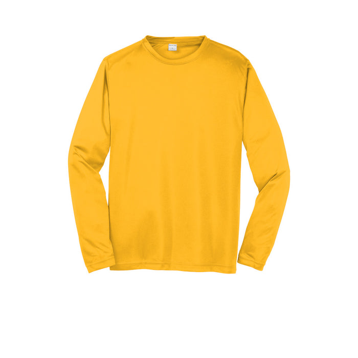 Gold Custom Long Sleeve Dry Performance T-Shirt