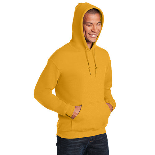 Gold Custom Men's Gildan Hoodie with logo