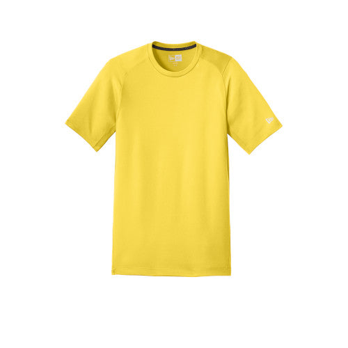 Goldenrod Custom New Era Series Performance Crew Tee