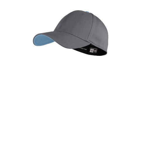 Graphite/ Carolina Blue Custom New Era Interception Cap