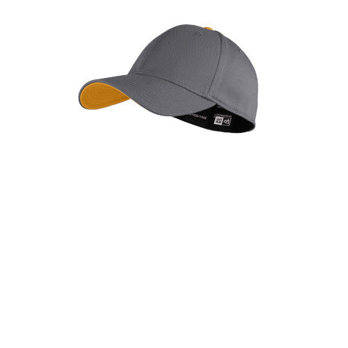 Graphite/ Gold Custom New Era Interception Cap