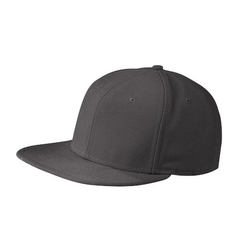 Graphite Custom New Era Original Fit Flat Bill Snapback Cap