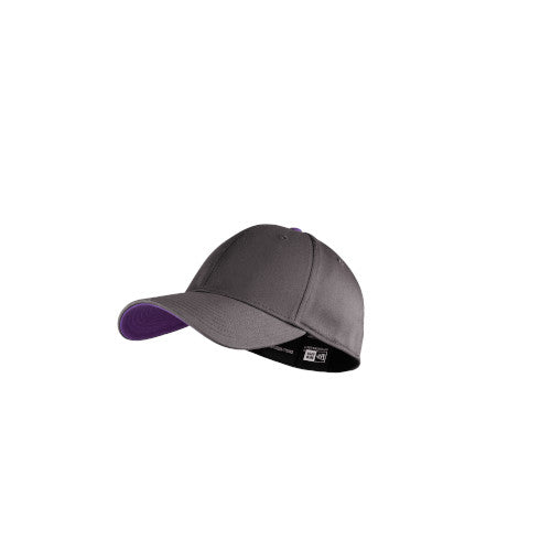 Graphite/ Purple Custom New Era Interception Cap