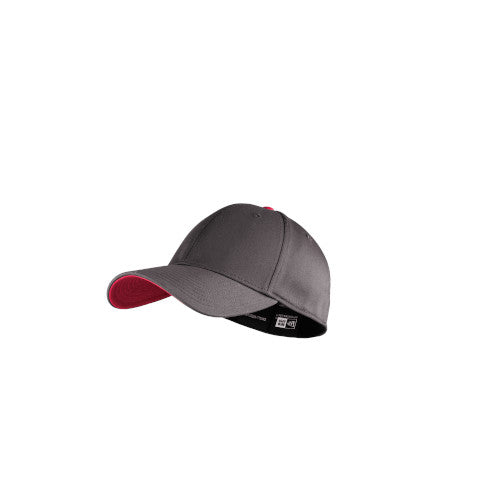 Graphite/ Scarlet Custom New Era Interception Cap