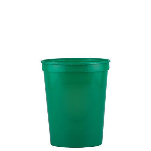 Green Custom Stadium Cup 16oz
