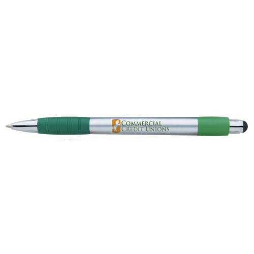 Green Custom Stylus Ballpoint Pen