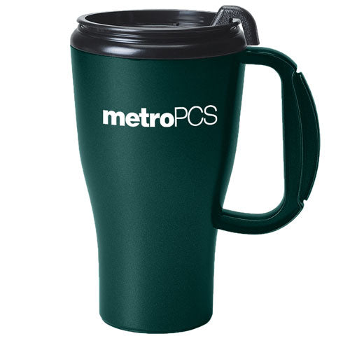 Green Custom Travel Mug 16oz