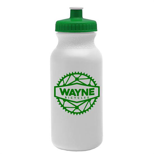 Green Custom USA Made Water Bottle