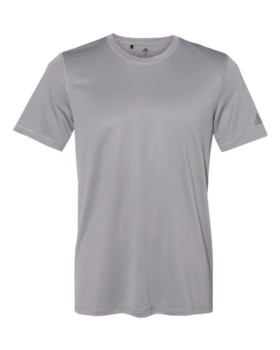 Grey Custom Adidas Sport T-Shirt