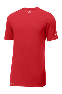 Gym Red Custom Nike Cotton T-Shirt
