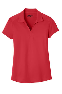 Gym Red Nike Ladies Dri-FIT Legacy Polo With Logo