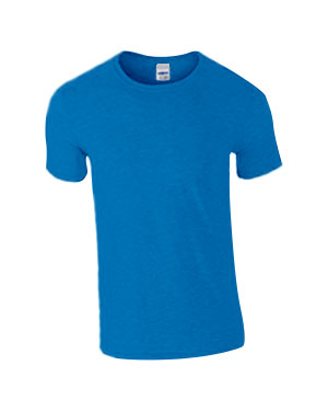 Heather Royal Custom Gildan Soft Style T-Shirt