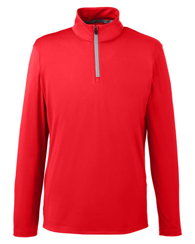 High Risk Red Custom Puma Golf Men's Icon Quarter-Zip