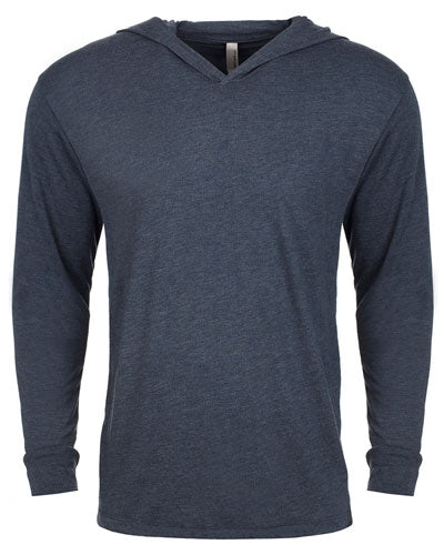 Indigo Custom Next Level Adult Triblend Long-Sleeve Hoody
