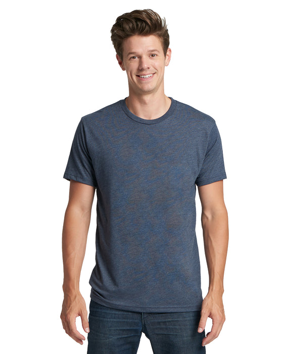 Indigo Custom Next Level TriBlend T-Shirt