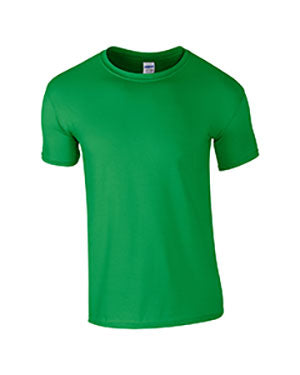 Irish Green Custom Gildan Soft Style T-Shirt
