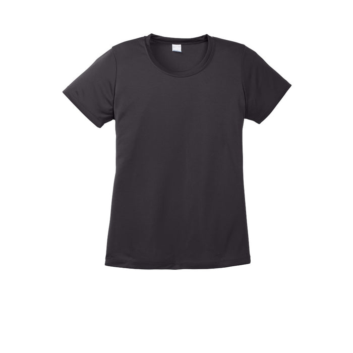 Iron Grey Custom Ladies Dry Performance T-Shirt
