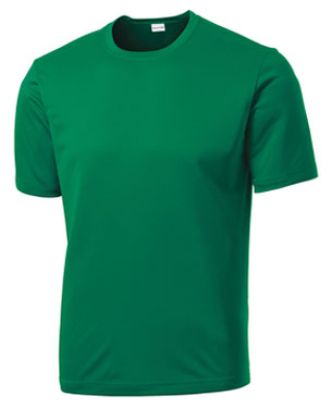Kelly Green Custom Dry Performance T-Shirt