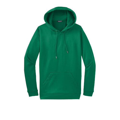 Kelly Green Custom Dry Performance Hoodie Sweatshirt