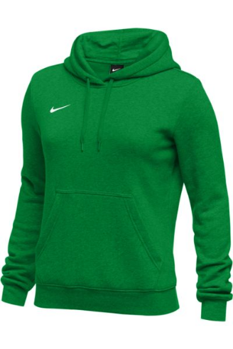 Kelly Green Nike Ladies Hoodie